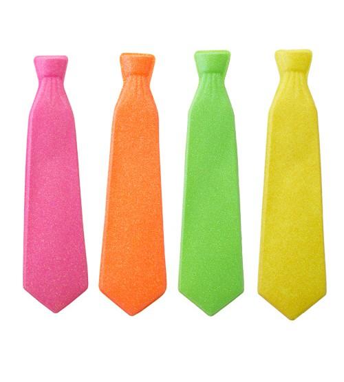 עניבות למסיבות זוהרות באולטרה