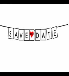 שלט-save the date