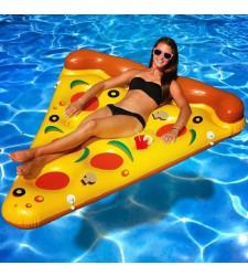 פיצה מתנפחת לבריכה