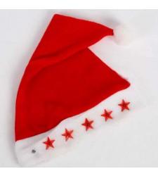 כובע סנטה מדליק אור