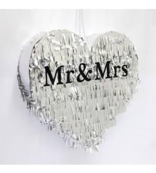 פיניאטה לחתונה MR&MRS