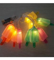 שרשרת מנורות ארטיקים